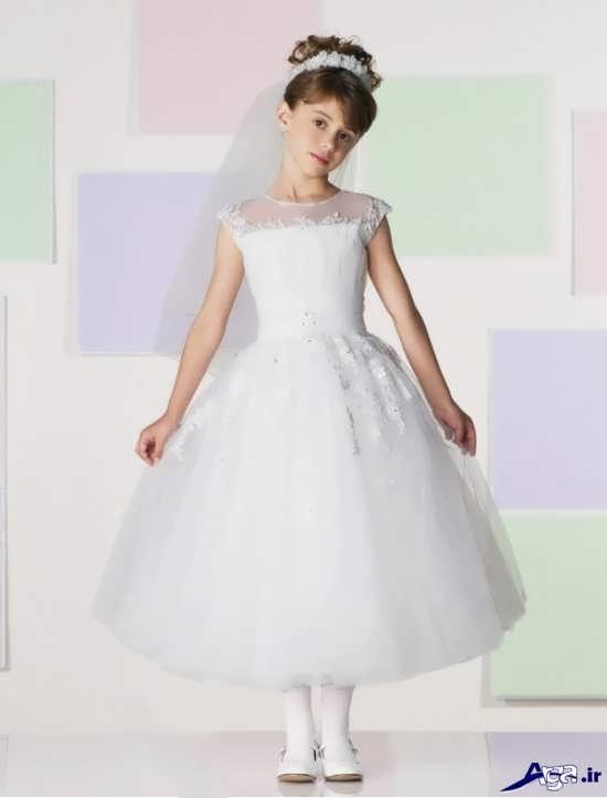 انواع لباس های عروس بچه گانه