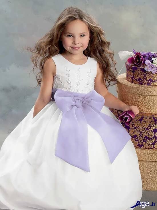 مدل خاص و زیبای لباس عروس بچه گانه