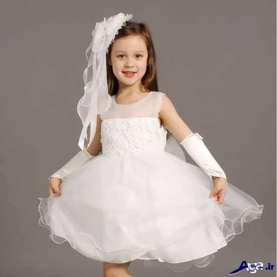 جدیدترین و زیباترین مدل لباس عروس بچه گانه
