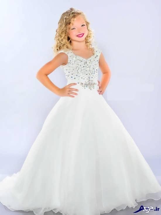 انواع لباس های عروس بچگانه