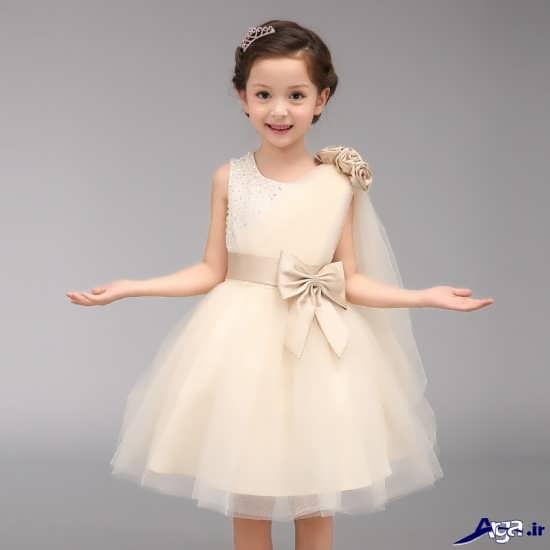 انواع لباس عروس شیک بچگانه