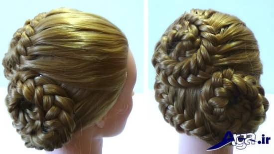 مدل آرایش مو همراه با بافت مو