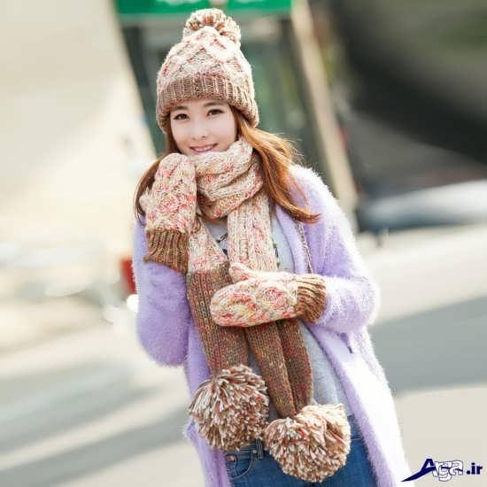 انواع شال گردن های زیبای دخترانه