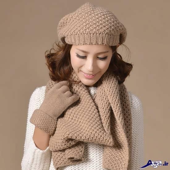 انواع شال گردن های دخترانه کره ای