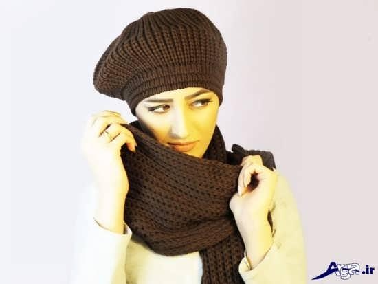 زیباترین وجدیدترین مدل کلاه وشال
