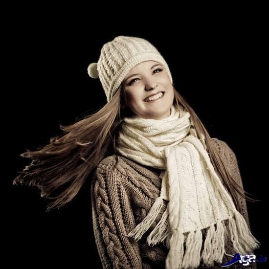 مدل های خاص شال گردن دخترانه