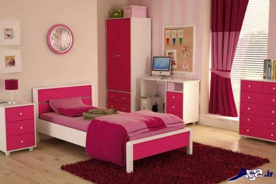 زیباترین تخت خواب دخترانه