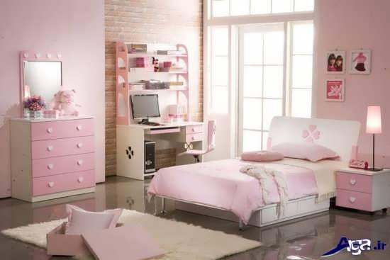 انواع تخت خواب دخترانه زیبا