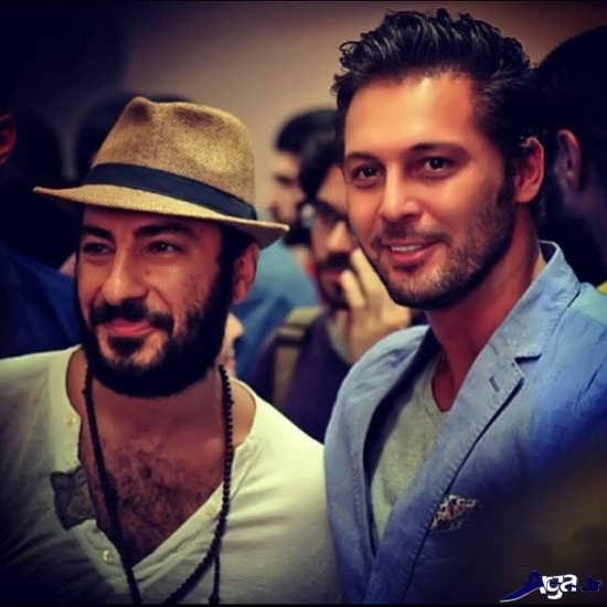 تصویر نوید محمدزاده در کنار دانیال عبادی