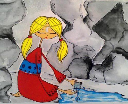 قصه ماه پیشونی برای کودکان و نوجوانان