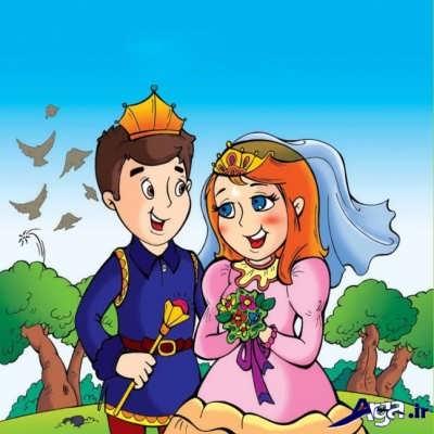 داستان زیبا ماه پیشونی و پسر پادشاه