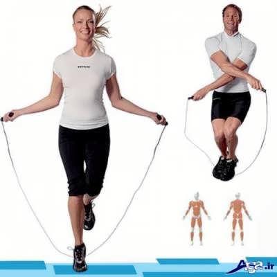 طناب زندن ورزش هوازی