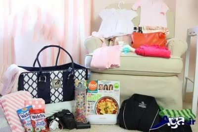 فهرستی کامل از وسایل مورد نیاز برای مادر و نوزاد