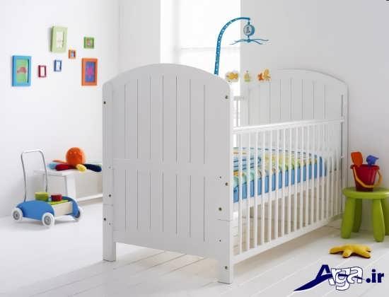 دکوراسیون ساده اتاق نوزاد
