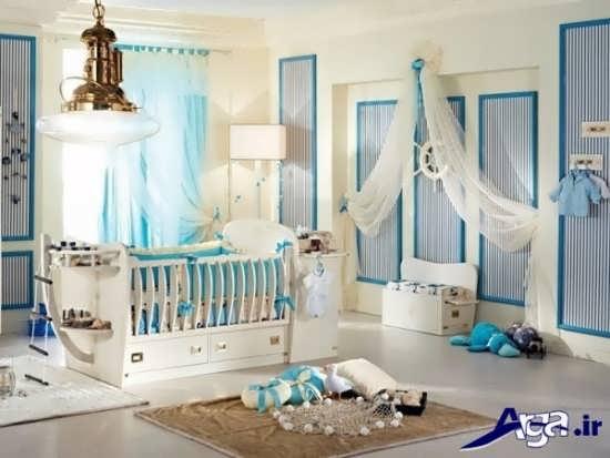 زیباترین و جدیدترین طراحی ها برای اتاق نوزاد