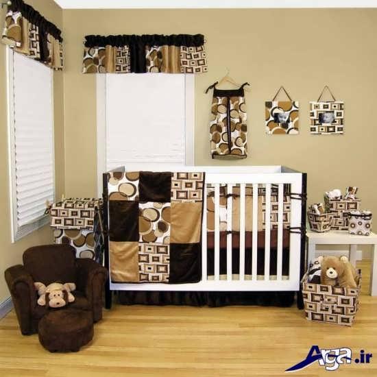 طراحی دکوراسیون داخلی اتاق نوزاد شیک و مدرن