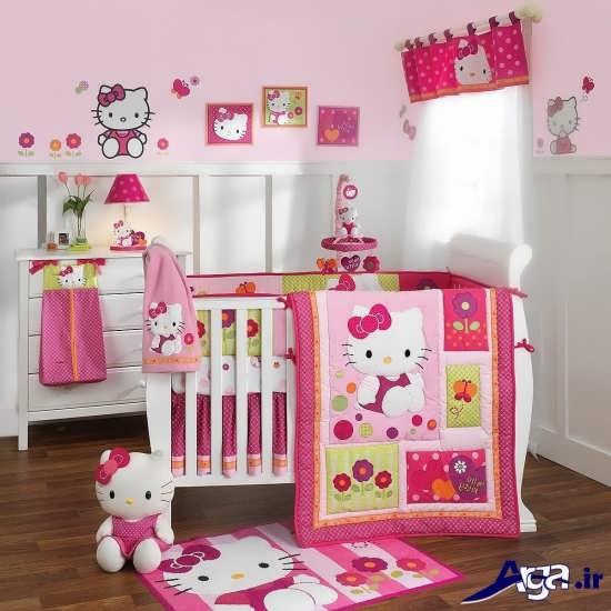 دیزاین اتاق نوزاد دختر با طرح های فانتزی و متفاوت