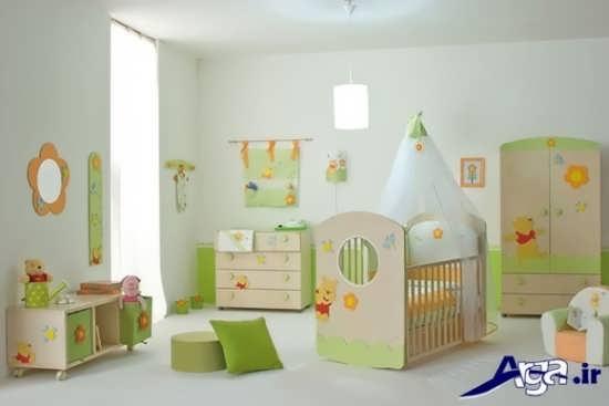 زیباترین دکوراسیون ها برای اتاق نوزادان دختر و پسر