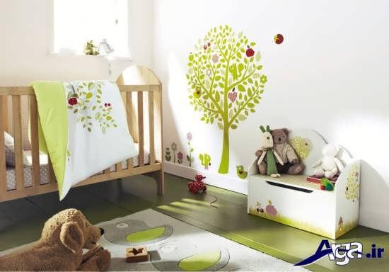 دیزاین اتاق نوزاد با دکوراسیون های مدرن و متفاوت