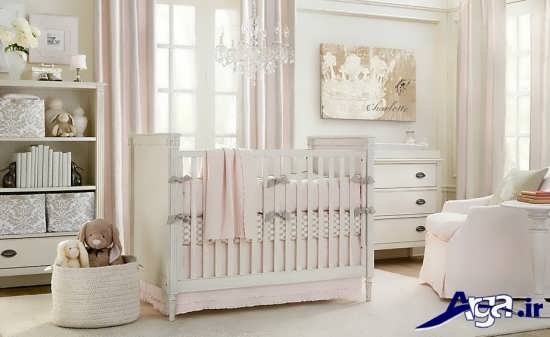 دیزاین های زیبا اتاق نوزاد دختر و پسر
