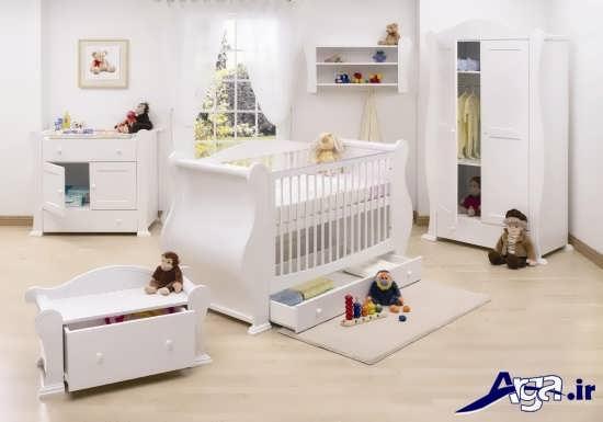 دیزاین اتاق نوزاد با طراحی های شیک و زیبا