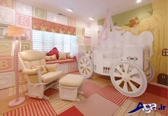 طراحی های مدرن برای اتاق نوزاد