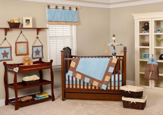 دیزاین اتاق نوزاد با طرح های زیبا و متفاوت