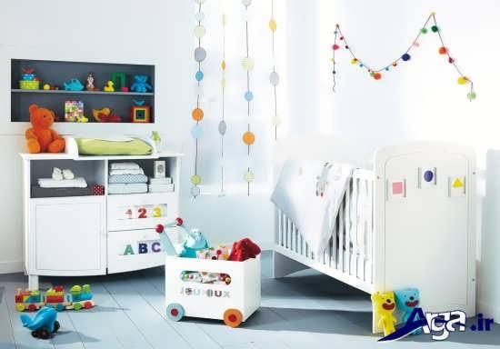 دیزاین اتاق نوزاد دختر و پسر با طراحی های زیبا و کاربردی