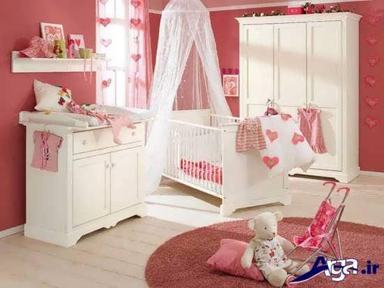 طراحی اتاق نوزاد با چیدمان های شیک