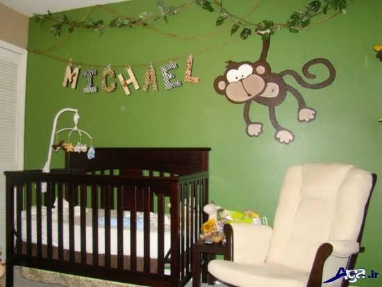 تزیین و چیدمان اتاق نوزاد پسر