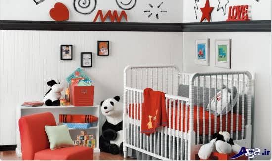 تزیین اتاق نوزاد با وسایل ساده