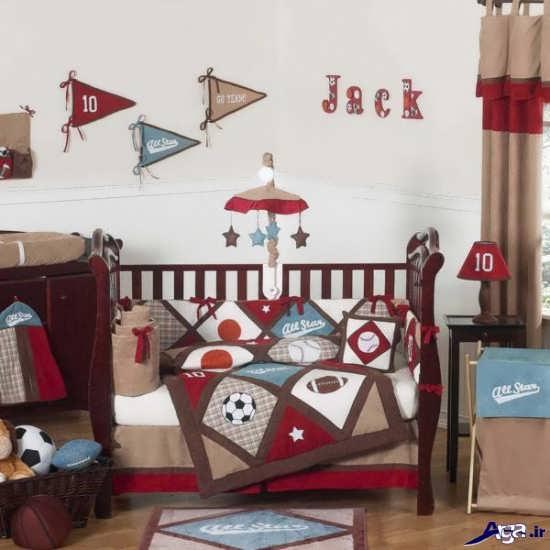 چیدمان اتاق نوزاد پسر