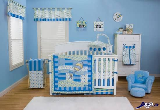 تزیین اتاق برای نوزاد پسر