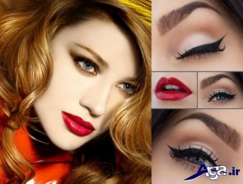 مدل های زیبا و جدید آرایش چشم