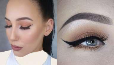 مدل آرایش چشم زیبا دخترانه و زنانه