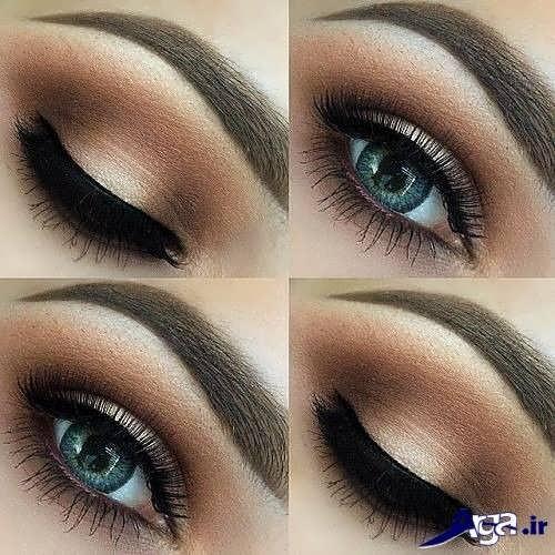 مدل آرایش زیبا و جدید چشم