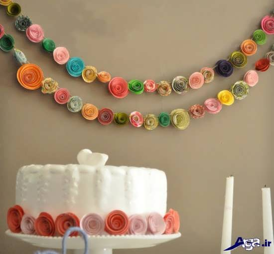 تزیین دیوار برای جشن تولد بچه ها