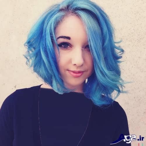 رنگ مو آبی