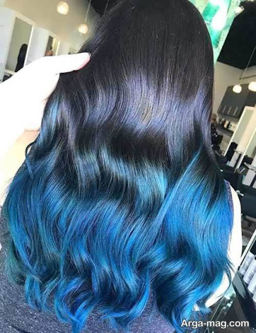 رنگ مو شیک زنانه