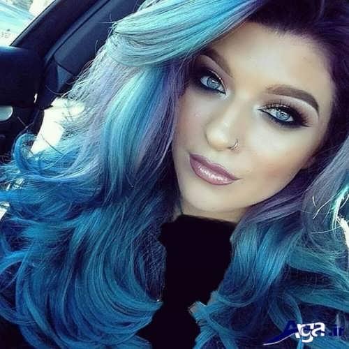 رنگ موی زیبا و فانتزی