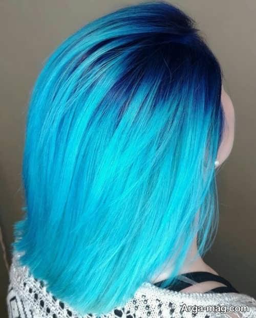 رنگ موی جذاب زنانه