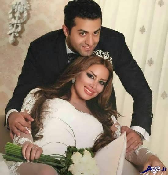 ژست عروس و داماد در آتلیه جدید و زیبا