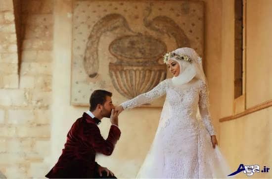 مدل عکس عروس و داماد جدید و زیبا