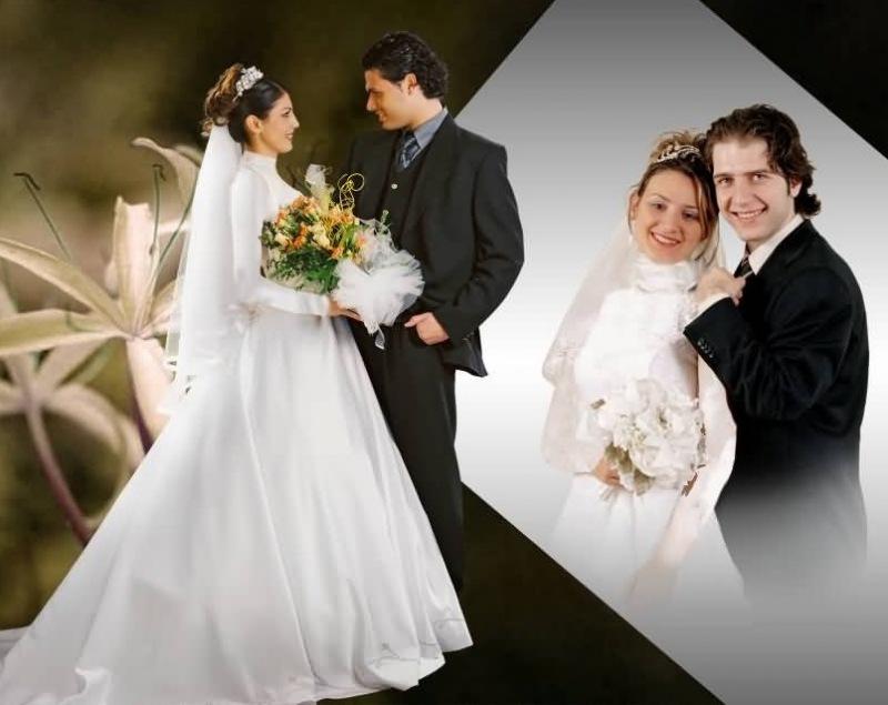 مدل مانتو می ژست عروس و داماد در آتلیه با ایده های جالب و جدید