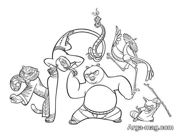 نقاشی متنوع انیمیشنی