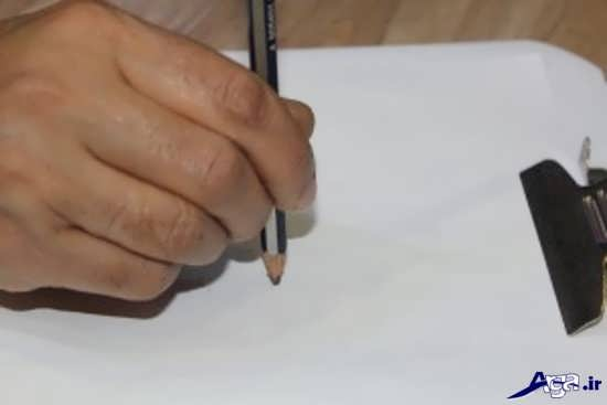 نقاشی های سیاه قلم ساده