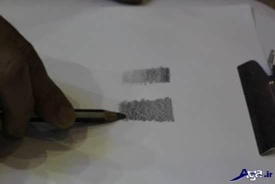 نقاشی ساده سیاه قلم