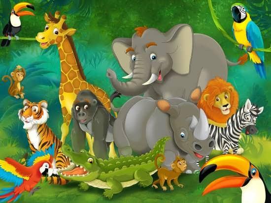 نقاشی حیوانات زیبا