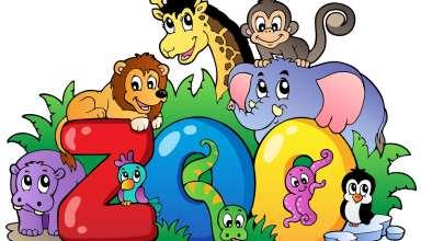 نقاشی کودکانه حیوانات با رنگ آمیزی های زیبا و جدید