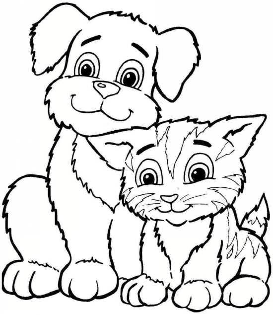 نقاشی کودکانه حیوانات با طرح های متفاوت